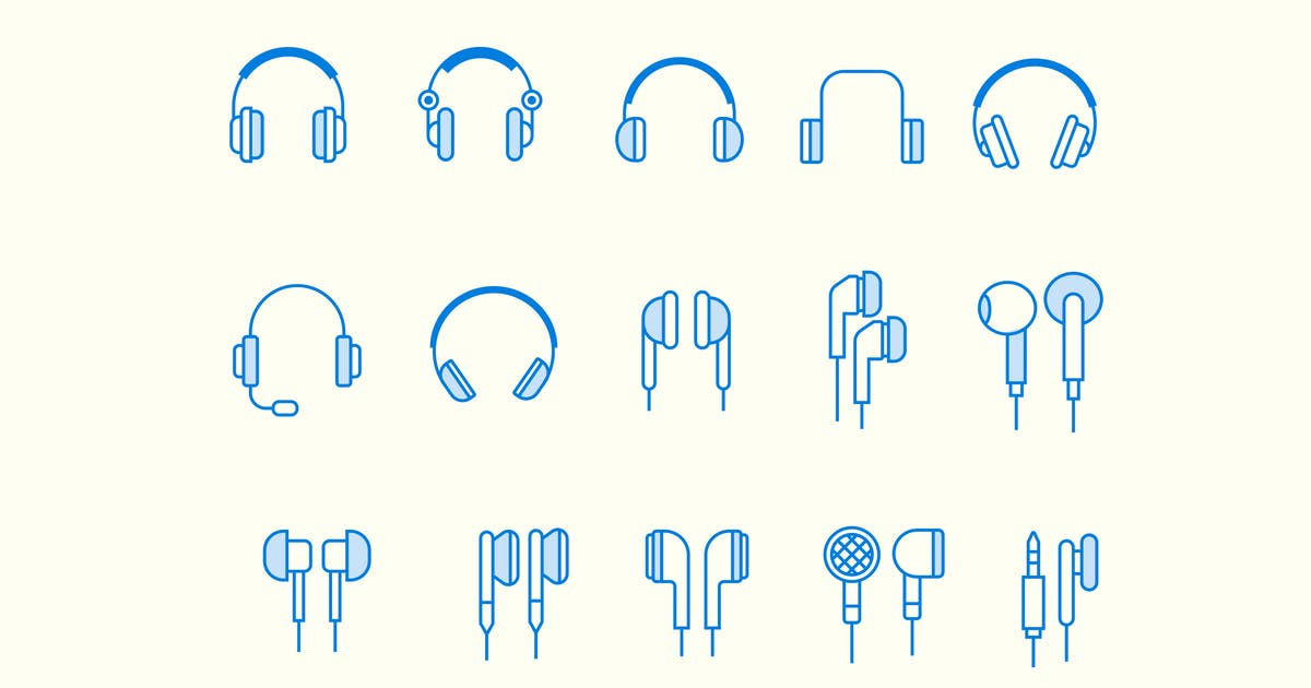 Download 15 Headphone Earphone Icons by Unknow