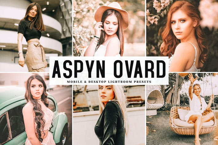 Thumbnail for Aspyn Ovard Mobile & Desktop Lightroom Presets