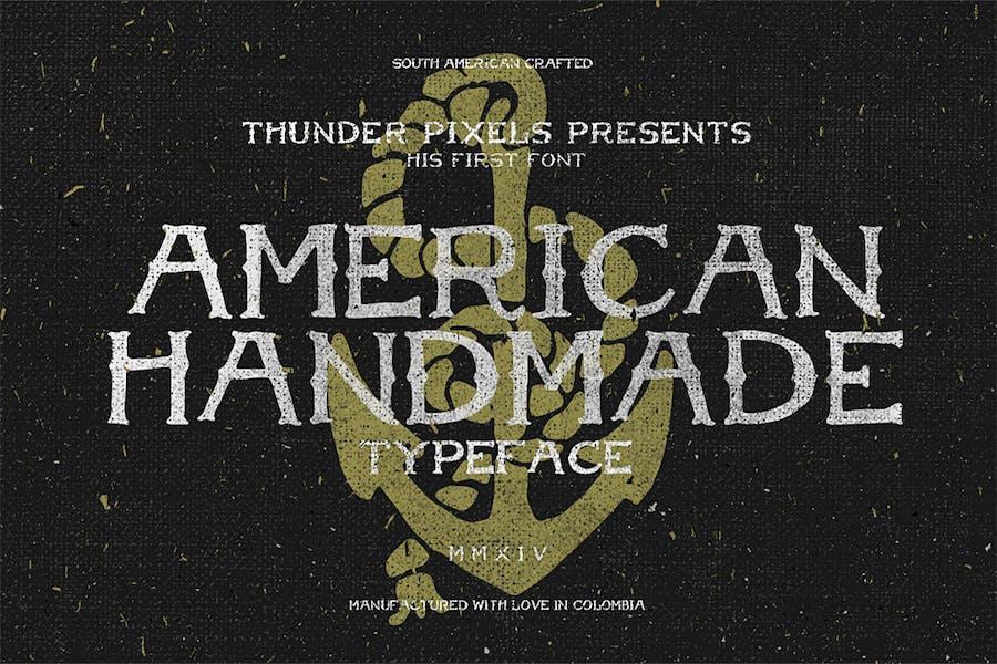 American Handmade Typeface