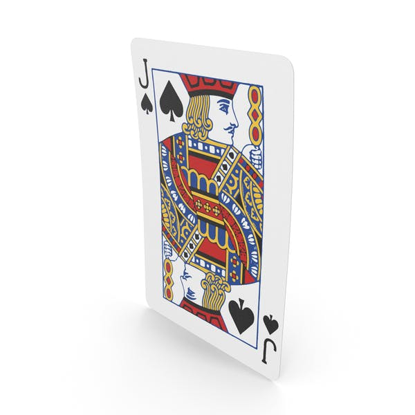 Playing Cards Jack of Spades