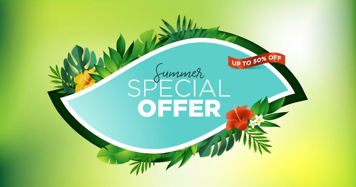 Download Summer Sale Banner by PureSolution