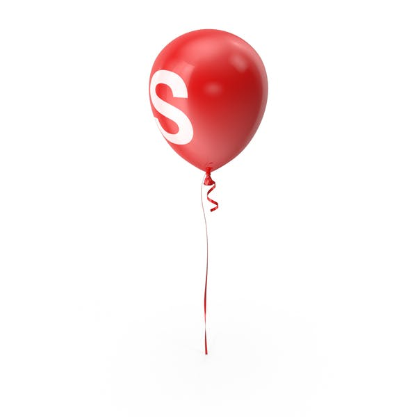 Буква S воздушный шар