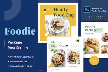 Foodie Package - Feed Post