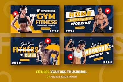 Gym Fitness Youtube Thumbnail