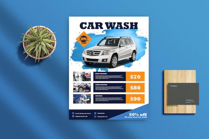 Thumbnail for Car Wash Flyer 1