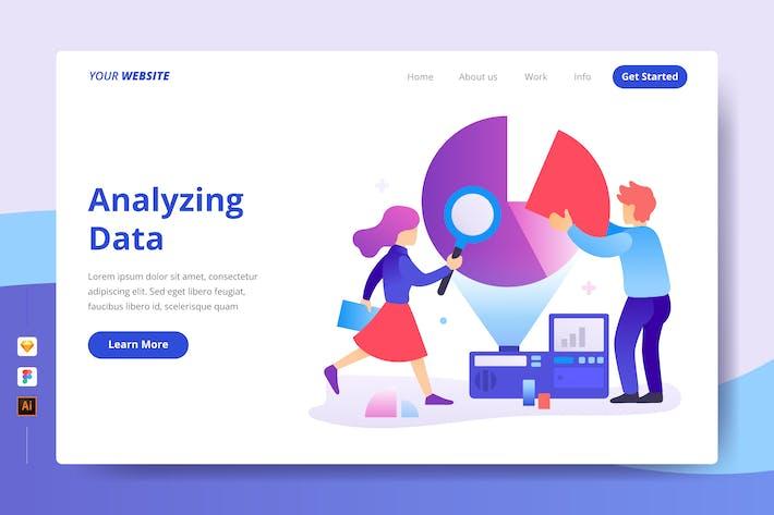 Thumbnail for Analyzing Data - Landing Page