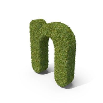 Grass Kleinbuchstabe N