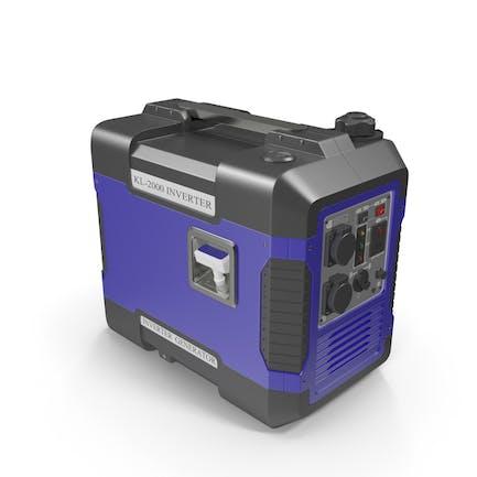 Portable Generator Blue