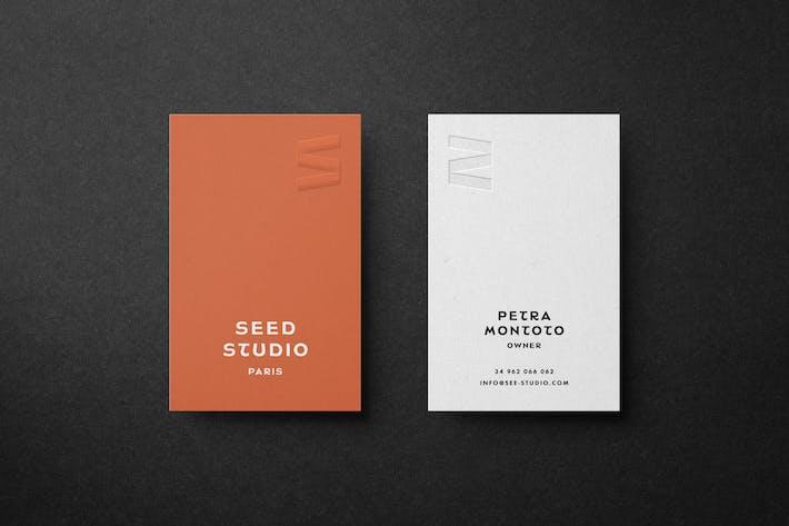 Thumbnail for Branding Business Card Mockup