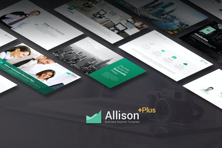 Thumbnail for Allison - Keynote Template
