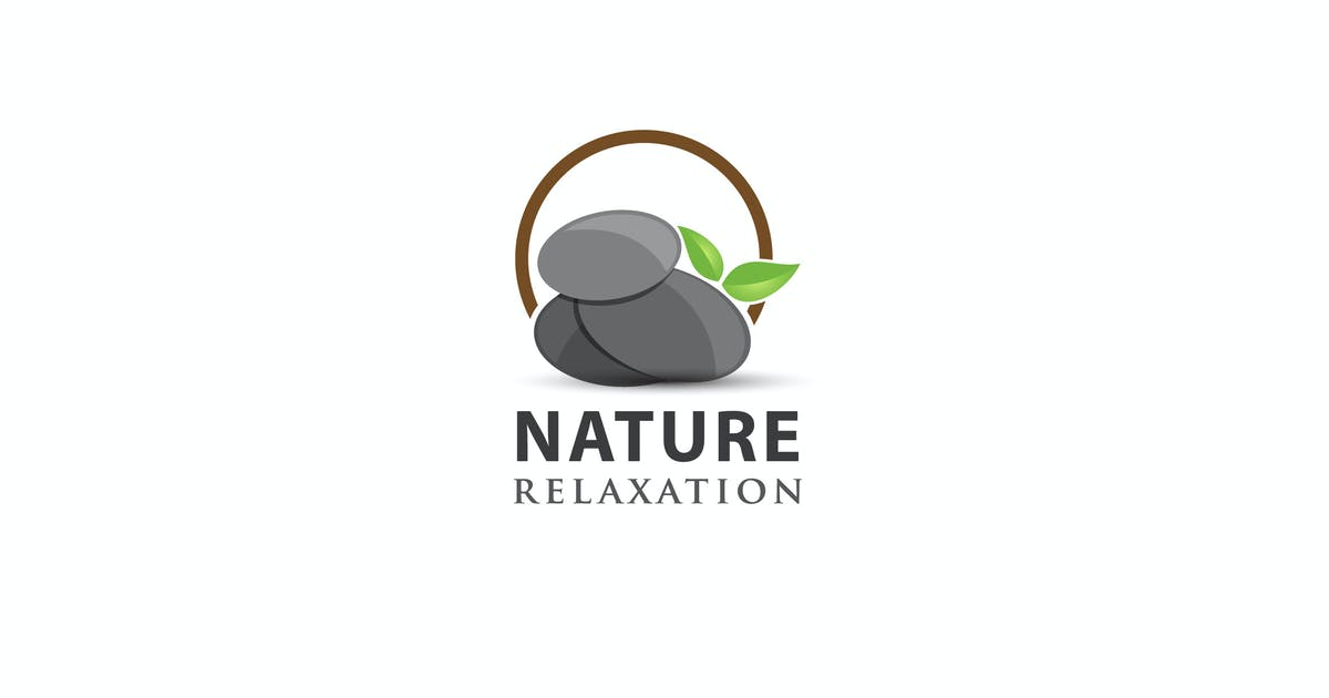 Download NATURE relaxation - Logo Template by jiwstudio