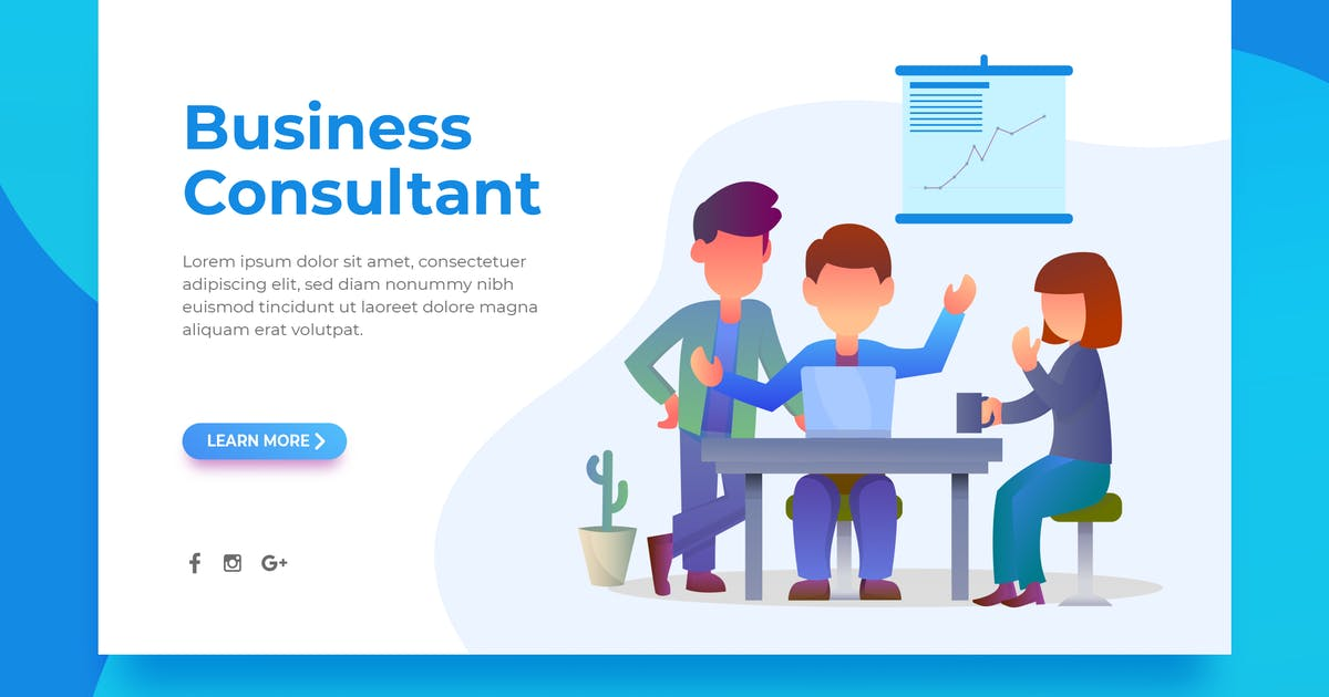 Download Business Consultant - Landing Page by surotype