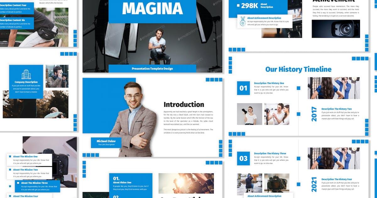 Download Magina - Business Template Prensentation by Blesstudio