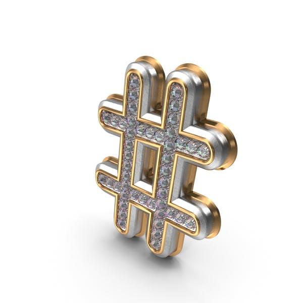 Bling Diamonds символ хэш-тег
