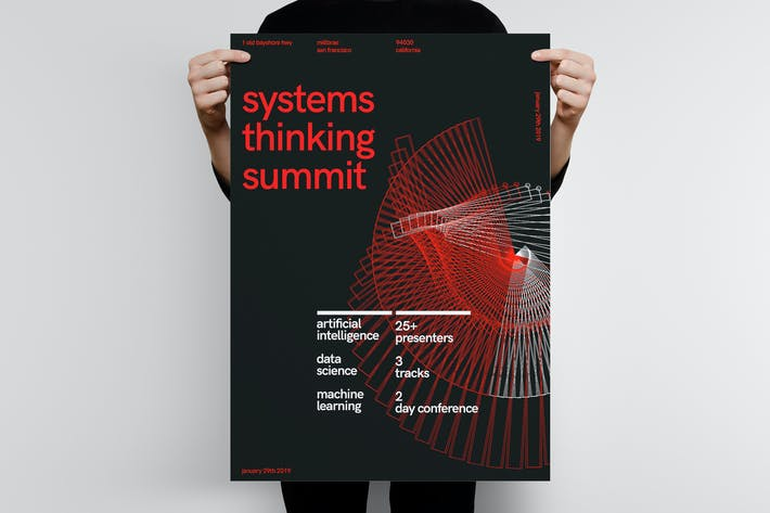 Thumbnail for Systems Thinking Summit Poster Template