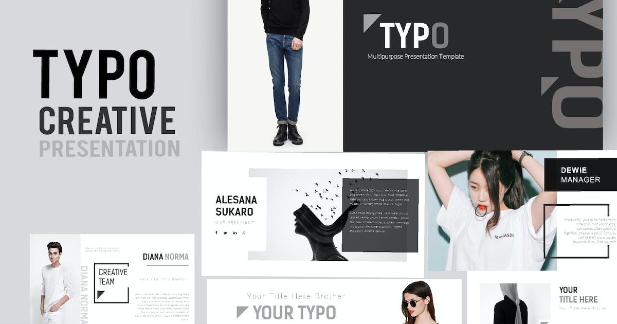 Download Typo Creative Powerpoint by Fourtyonestd