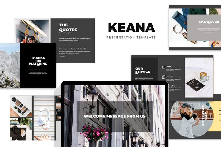 Thumbnail for Keana: Fashion, Clothing & Lifestyle Google Slides