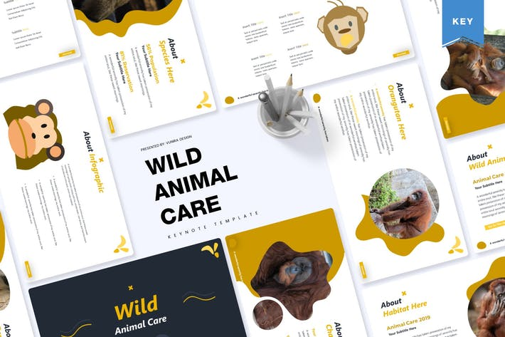 Thumbnail for Wild Animal Care | Keynote Template