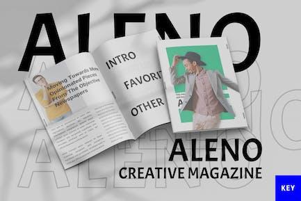 Aleno - Magazine Keynote Template