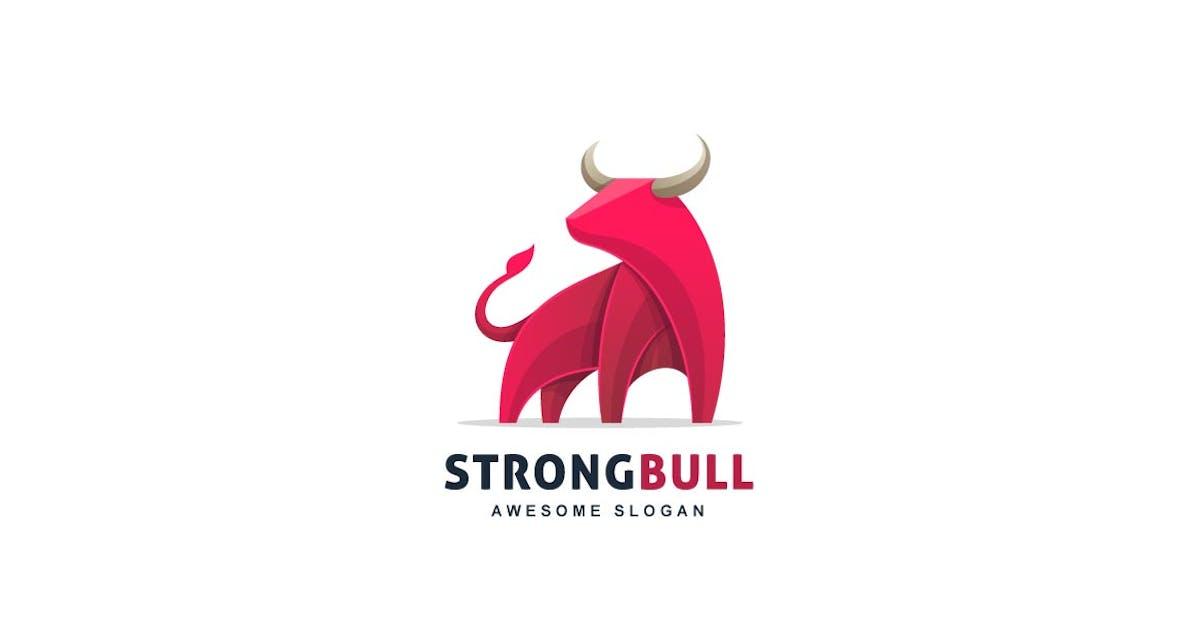 Download Bull Colorful Logo by ivan_artnivora