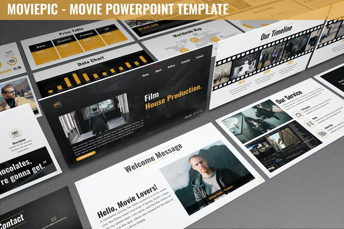 Moviepic - Movie Powerpoint Template