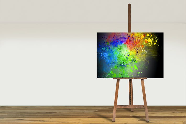 Thumbnail for Floor_Easel_Canvas_01