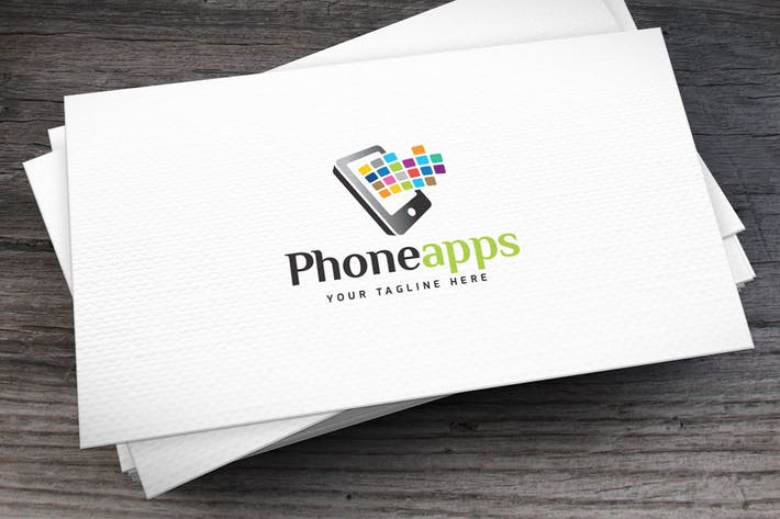 Thumbnail for Phoneapps Logo Template