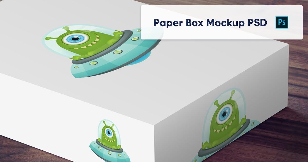 Download Paper Box PSD Mockup - Vol. 3 by maroskadlec