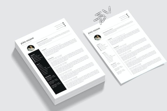 CV - Simple Resume Template