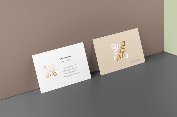 Thumbnail for Business Card Mock-up