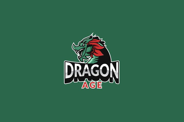 Cover Image For Dragon Logo