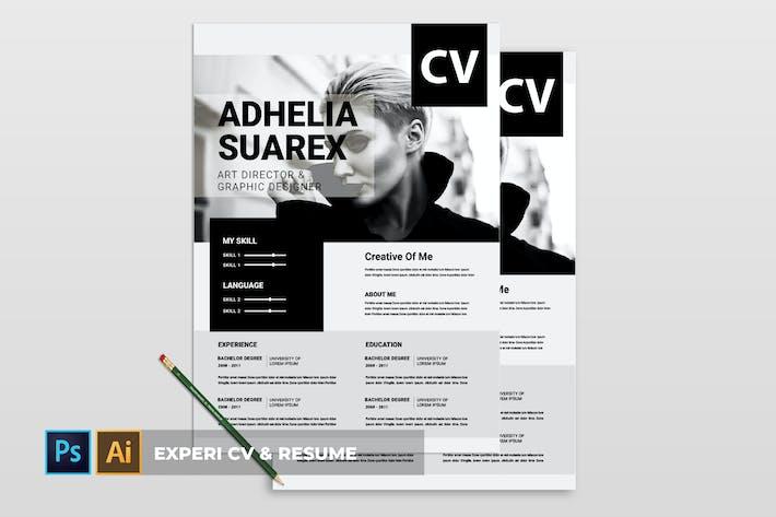 Thumbnail for Experi | CV & Resume