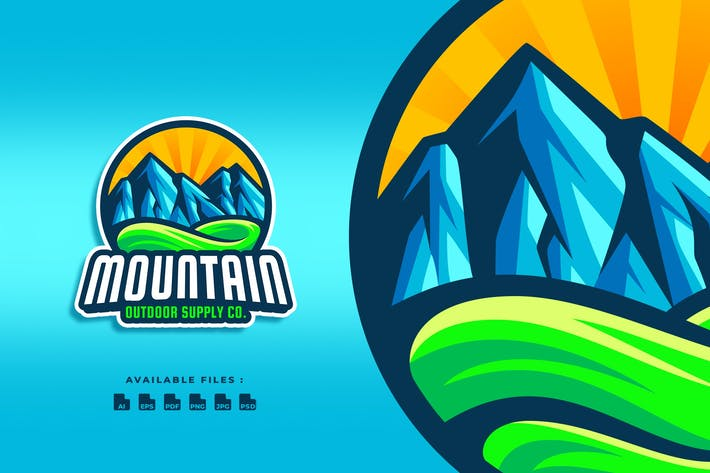 Mountain Outdoor Logo