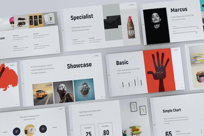 Thumbnail for Fabros - Creative Presentation Template (KEY)