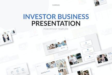 Investor Business Powerpoint Presentation Template