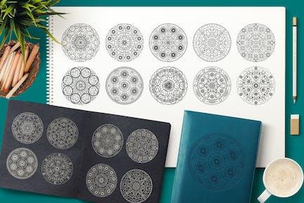 Sacred Geometric Mandalas Collection
