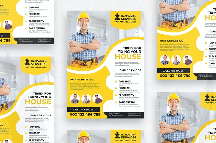 Thumbnail for Handyman Services - Flyer