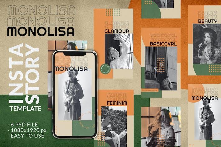 Monolisa Instagram Story Template