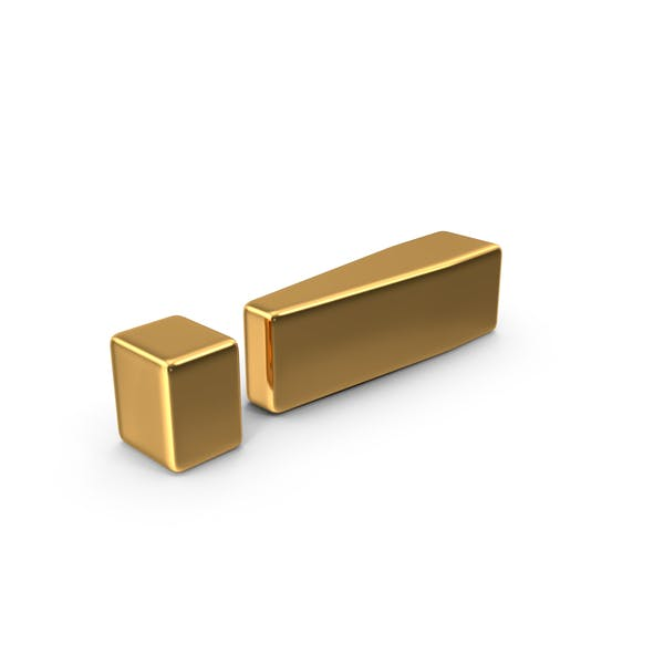 Gold Exclamation Mark