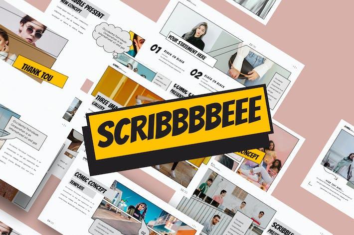 Thumbnail for SCRIBBLE - Google Slide