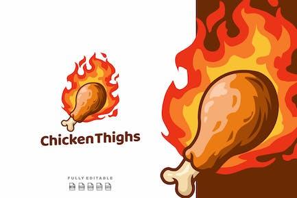 Chicken Thighs Burn Logo