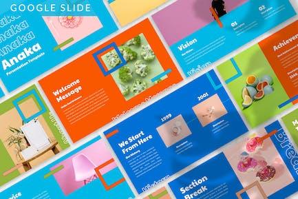 Anaka - Colorful Google Slide Template