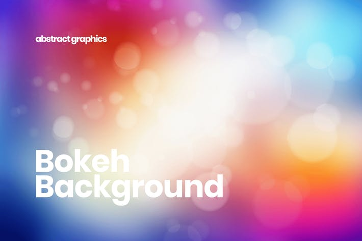 Cover Image For Colorful Blurred Bokeh Backgrounds