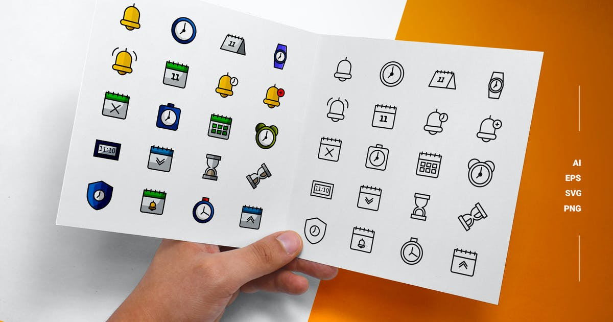 Download Date Time - Icons by esensifiksi