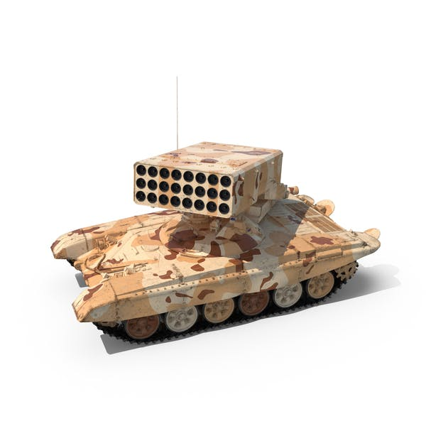 Thumbnail for Desert Heavy Fire Throwing TOS-1A System