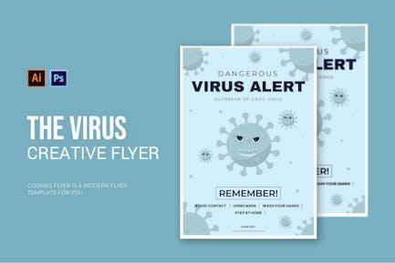 Virus Outbreak - Flyer