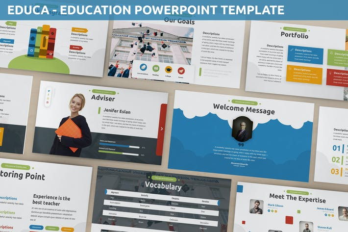 Thumbnail for Educa - Education Powerpoint Template