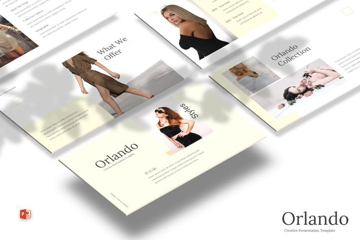 Thumbnail for Orlando - Powerpoint Template