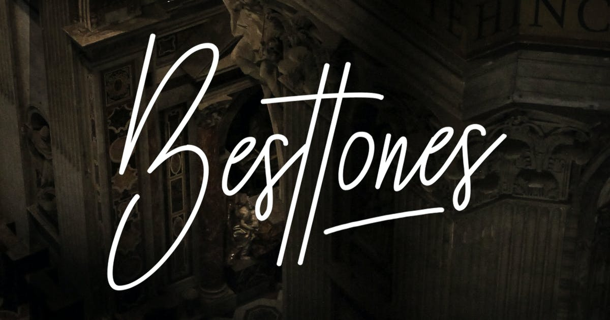 Download Besttones Signature Font by indotitas