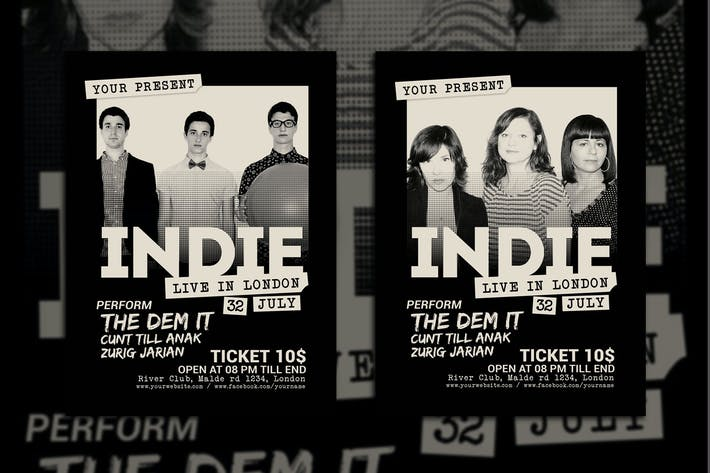 Cover Image For Indie Music Concert